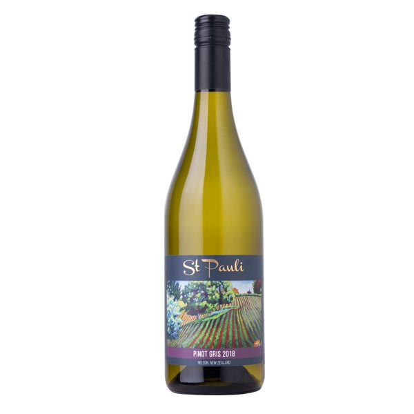 St Pauli Vineyard Pinot Gris 2018 – Case of 6